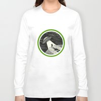 sci fi Long Sleeve T-shirts featuring Sci-Fi Nerd by Eileen McIntire