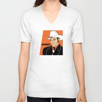 will ferrell V-neck T-shirts featuring Whammy! - Champ Kind by Buby87