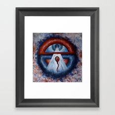 İNFORMATİON-X Framed Art Print