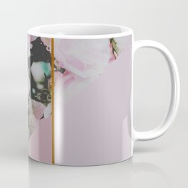Pink Roses Palette Coffee Mug