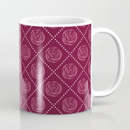 Red Roses pattern Coffee Mug