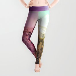 New York City Rainbow Bokeh Leggings