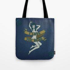 I Love The Dead Tote Bag