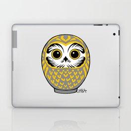 Grey Fukuro Daruma Laptop & iPad Skin