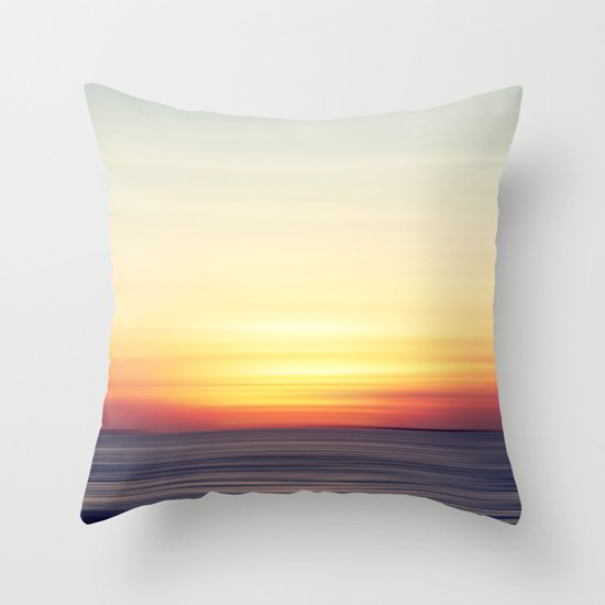 Softly II Throw Pillow