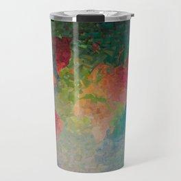 Recycled Color World Map Travel Mug