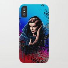 Katharine Hepburn, 60 years of drama. iPhone X Slim Case