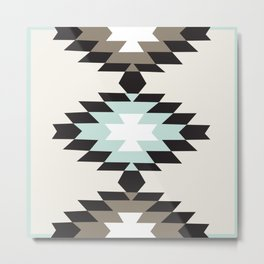 American Native Pattern No. 53 Metal Print