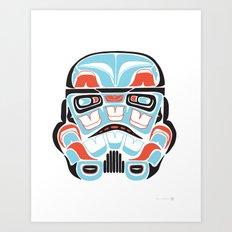 Skull Warrior - Alliance Is Rebellion - Stormtrooper,  Art Print