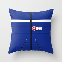 Party Poison Outfit Throw Pillow