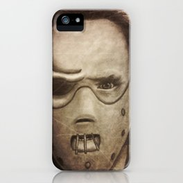 hannibal lector iPhone Case