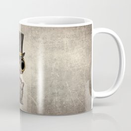 Cute Steampunk Baby Turtle Coffee Mug