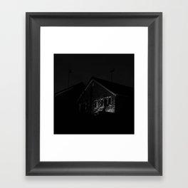 Eerie House Framed Art Print