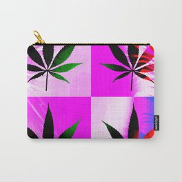 GreenRush - PopLeaf Pink Carry-All Pouch