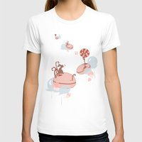 "macaroon T-shirts featuring Macaroon Heaven by Barbora ""Mad Alice"" Urbankova"