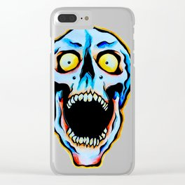 Colorfull skull Clear iPhone Case
