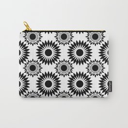 Black and white abstract pattern . 5 Carry-All Pouch