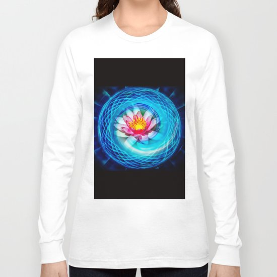 Wellness Water Lily Long Sleeve T-shirt