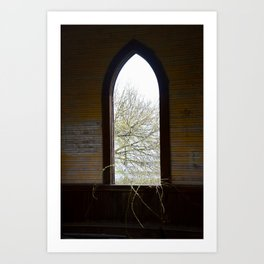 Vacant Church Art Print