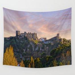 Castelo de Obidos, Estremadura, Portugal Wall Tapestry