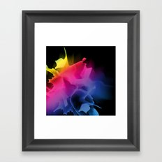 Splash of Color Framed Art Print