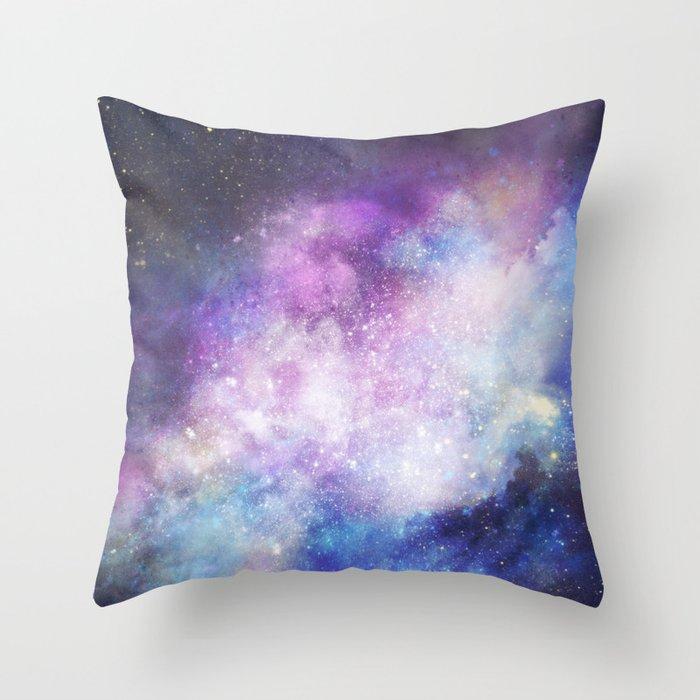 Nebula: Forever Throw Pillow