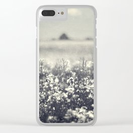Canola Glow Clear iPhone Case