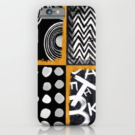 KAR-576 Lines and Dots I iPhone Case