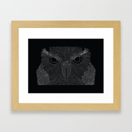 Owling imperfections Framed Art Print