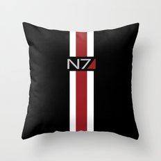 Mass Effect   Commander Shepard  Throw Pillow