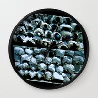faith Wall Clocks featuring Faith by dominiquelandau