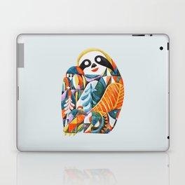 Nordic Sloth Watercolor Laptop & iPad Skin