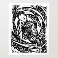 Twisted Child Art Print