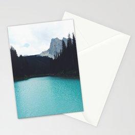 Moody Emerald Lake Stationery Cards