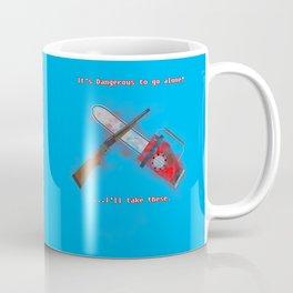 Evil Dead: It's Dangerous to go alone! Coffee Mug