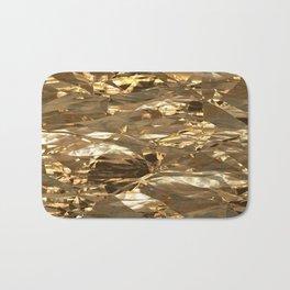 Gold Metal Bath Mat