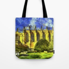 Eton College Chapel Vincent Van Gogh Tote Bag