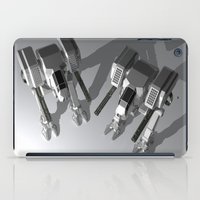 robots iPad Cases featuring Robots by Carlo Toffolo
