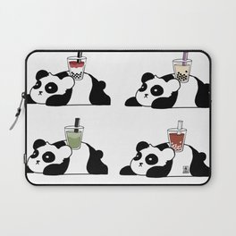 Wall of Boba Pandas Laptop Sleeve