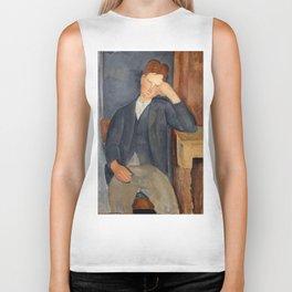 """Amedeo Modigliani """"The Young Apprentice"""" Biker Tank"""