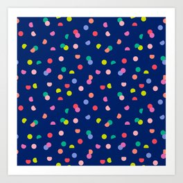 Colourpop Confetti Art Print