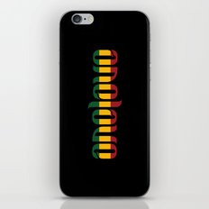 One Love Ambigram  iPhone & iPod Skin
