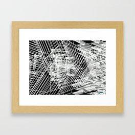 Mixed Signals No.1  Framed Art Print