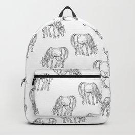 Little Line Horse Backpack