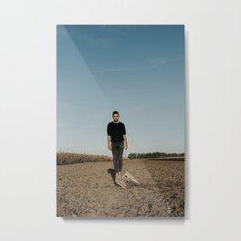 Grounding Metal Print