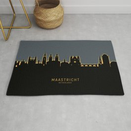 Maastricht The Netherlands Skyline Rug
