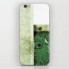White Green Concrete iPhone & iPod Skin