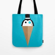 Peppermint Penguin Tote Bag