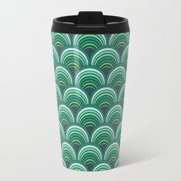 Japanese pattern forest colors Travel Mug