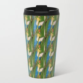 Green Vines Travel Mug